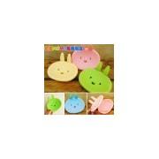 ZSF074卡通小兔可爱笑脸香皂盒|创意家居货源|家居用品货源批发
