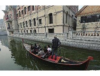 """大连现山寨版""""威尼斯水城"""" 斥资50亿明年开放"""